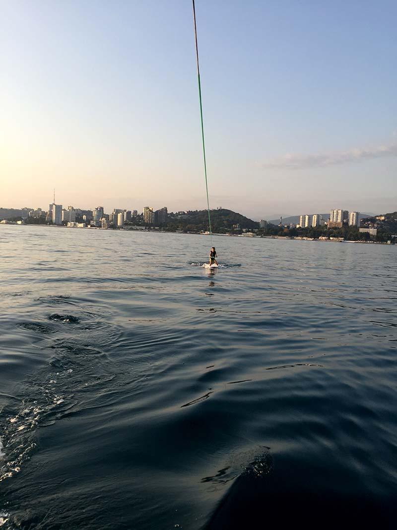 Водные виды спорта в Сочи